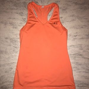 Bright Orange Workout Top